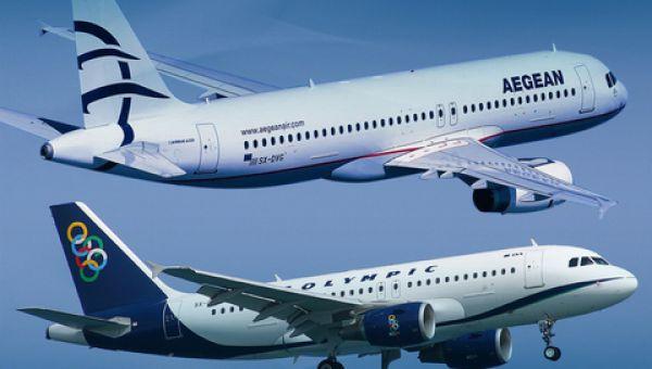 AEGEAN & Olympic Air: Αύξηση στην κίνηση εσωτερικού τον Νοέμβριο