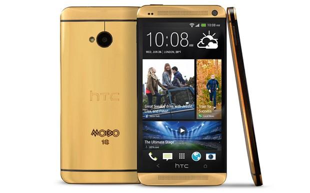 HTC από ατόφιο χρυσάφι