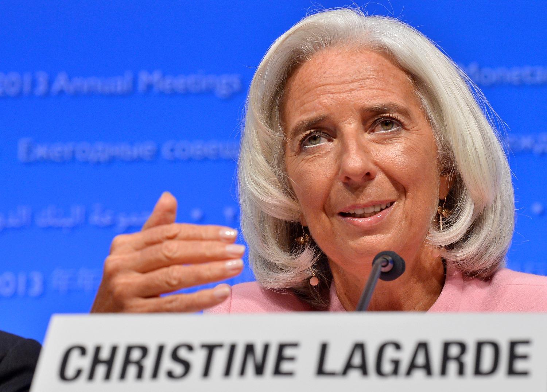 Λαγκάρντ: «Όλοι πανηγυρίζουμε το πλεόνασμα της Ελλάδας»