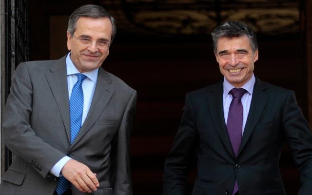 Τη συνεισφορά της Ελλάδας στο ΝΑΤΟ εξήρε ο Άντερς Φογκ Ράσμουσεν