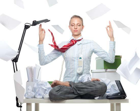 Γιόγκα στο γραφείο: Πάρτε μια ανάσα με asana
