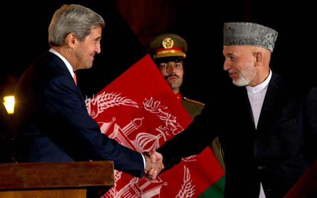 Μερική συμφωνία ΗΠΑ-Αφγανιστάν