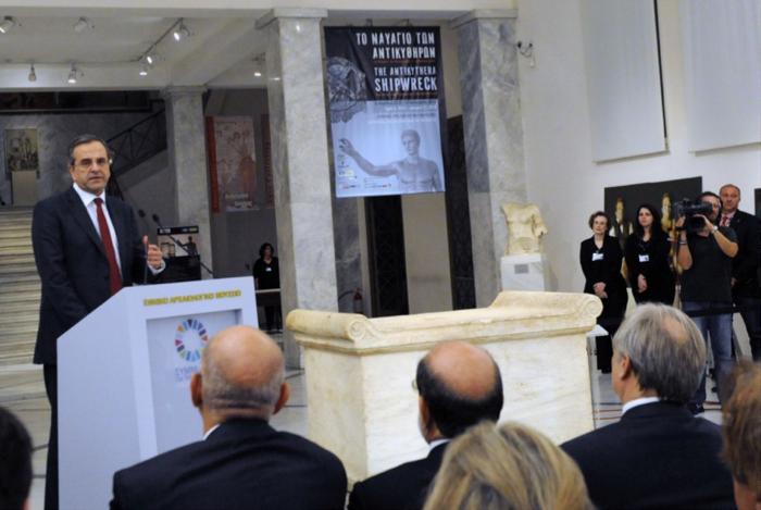 Εγκαίνια της έκθεσης «Προσφορά» στο Αρχαιολογικό Μουσείο