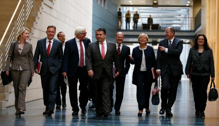Ραντεβού για την Τετάρτη έδωσαν οι Γερμανοί Χριστιανοδημοκράτες και Σοσιαλδημοκράτες
