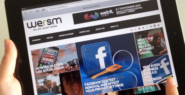 Νέα αναβαθμισμένη σελίδα για το WeAreSocialMedia.gr