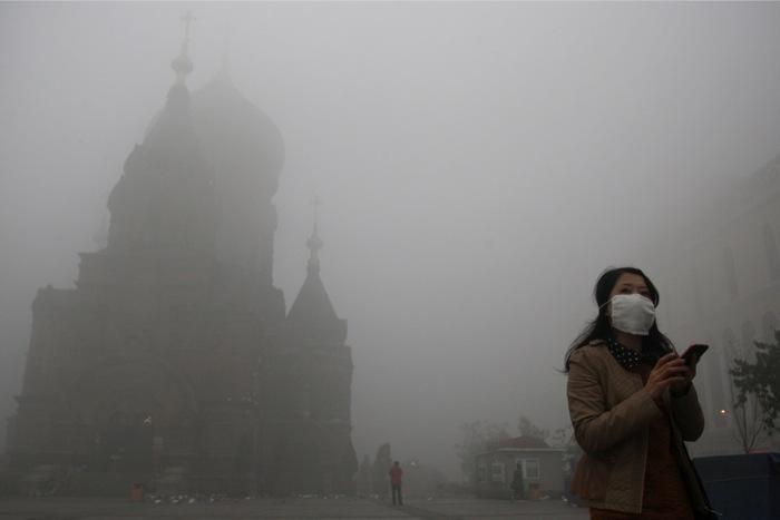 Νέφος «ανάπτυξης» πνίγει την Κίνα