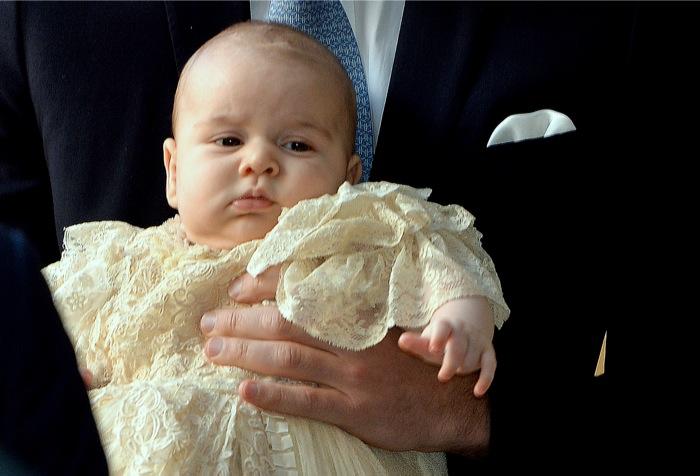 Βαφτίσια για τον μικρό Πρίγκιπα Γεώργιο