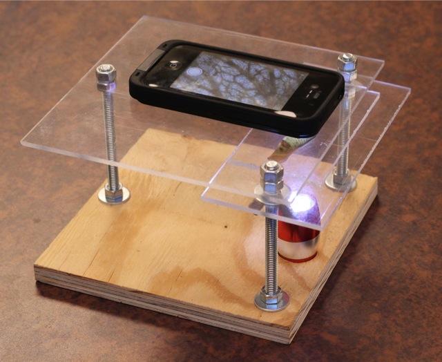 Μετατρέψτε ένα smartphone σε ψηφιακό μικροσκόπιο!