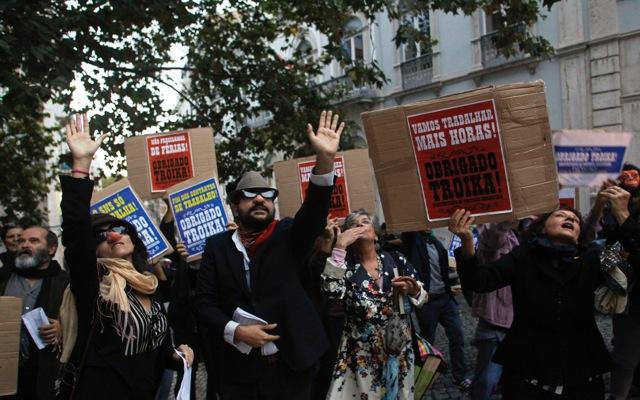Διαδηλώσεις κατά της λιτότητας στην Πορτογαλία