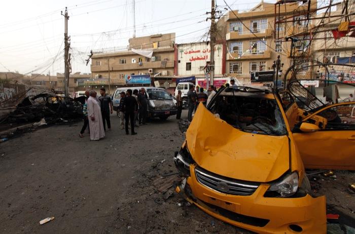 Μπαράζ βομβιστικών επιθέσεων στο Ιράκ – Τουλάχιστον 37 οι νεκροί
