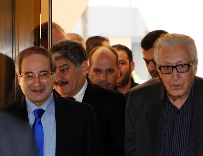 Στη Δαμασκό ο ειδικός απεσταλμένος ΟΗΕ και Αραβικού Συνδέσμου