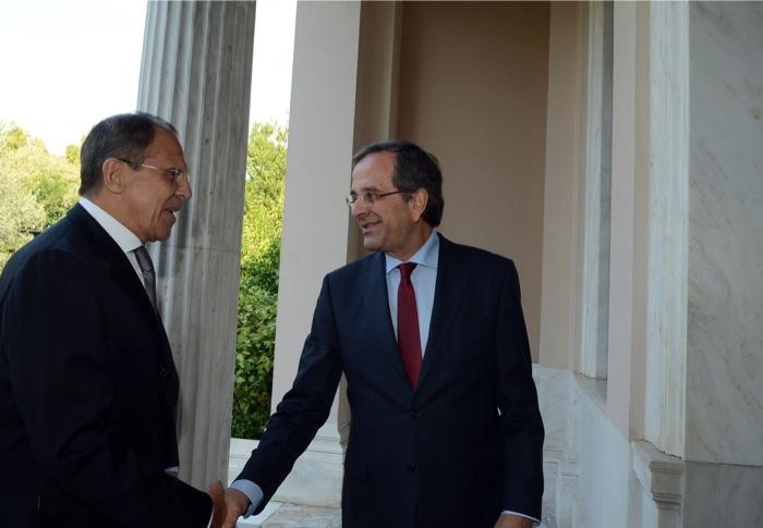 Λαβρόφ: «Ελλάδα και Ρωσία σταθεροί φίλοι»