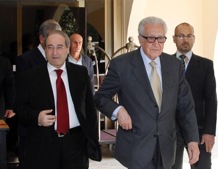 Συνάντηση του απεσταλμένου του ΟΗΕ με τον Άσαντ