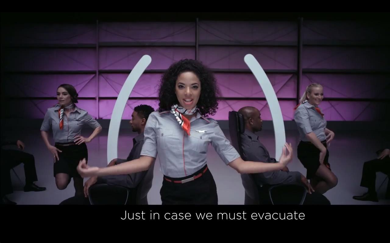 Το καλύτερο αεροπορικό safety briefing που έχετε δει (video)