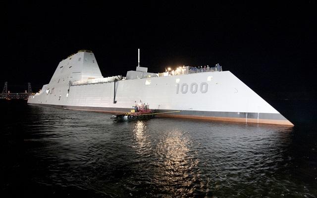 USS Zumwalt: Πανάκριβο, ultra σύγχρονο, θανατηφόρο, «αόρατο»
