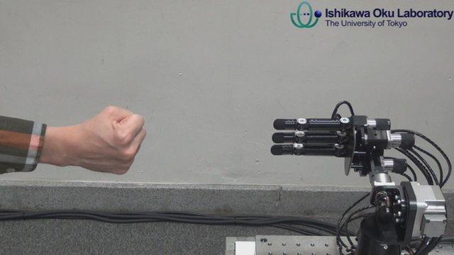 Το ρομπότ που δεν χάνει ποτέ στο «Πέτρα-Μολύβι-Ψαλίδι-Χαρτί»