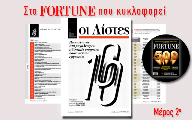 Fortune 100: Δείτε ποιες εταιρείες είναι στη θέση 20 έως 30