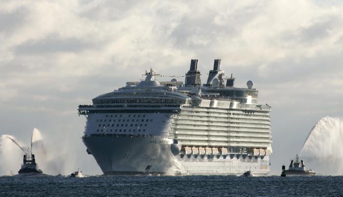 Τα μεγαλύτερα κρουαζιερόπλοια του κόσμου