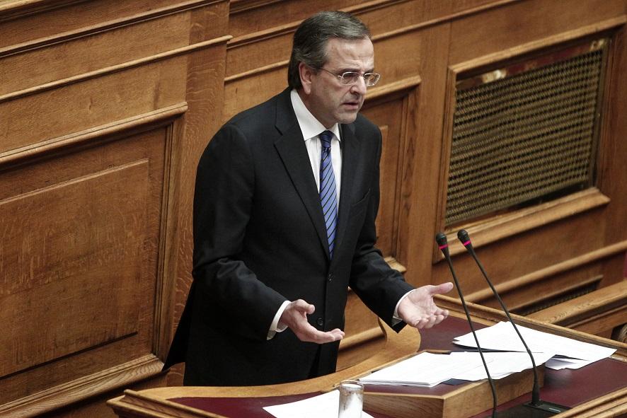 Σαμαράς: «Δεν σας κάνω τη χάρη κ. Τσίπρα, εκλογές θα γίνουν το 2016»