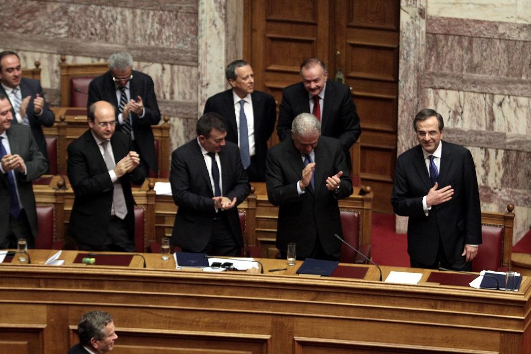 Καταψηφίστηκε η πρόταση δυσπιστίας του ΣΥΡΙΖΑ με 153 «όχι»