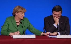 Merkel Barroso