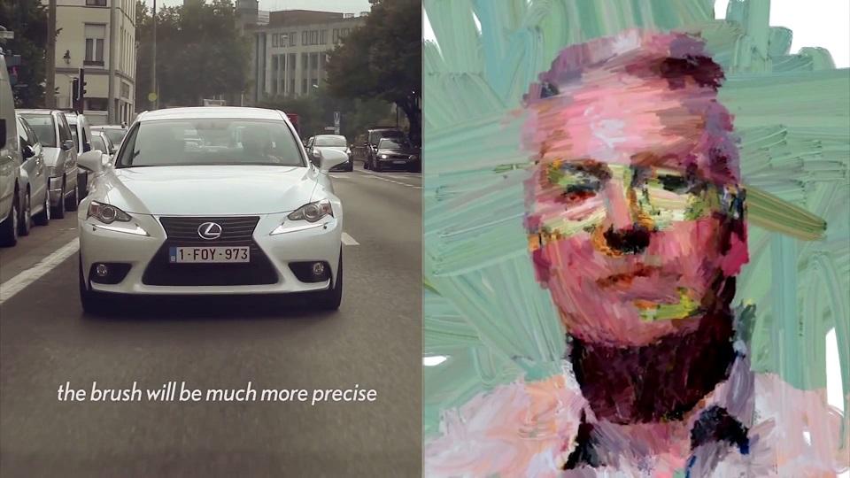 Το Lexus που σας ζωγραφίζει ενώ οδηγείτε