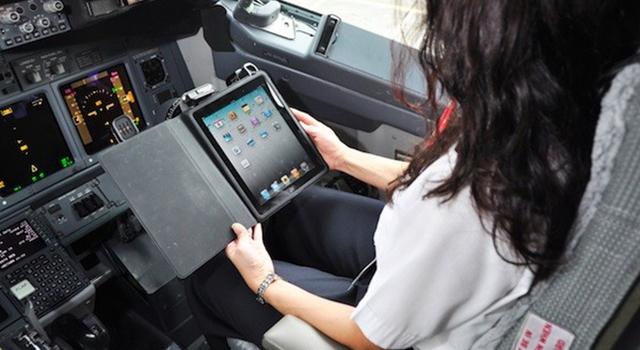 Προς ελεύθερη χρήση ηλεκτρονικών συσκευών σε αεροπλάνα