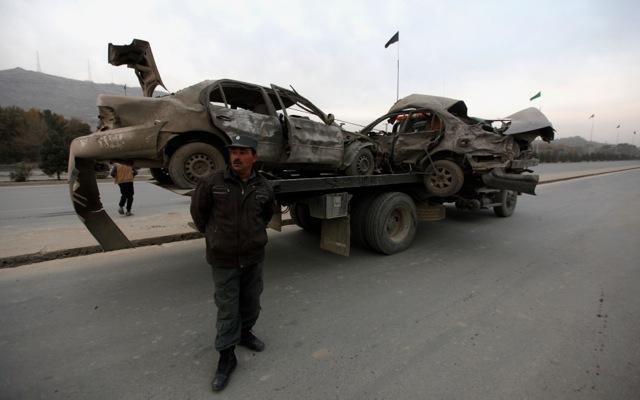 Προειδοποιητική επίθεση στο Αφγανιστάν