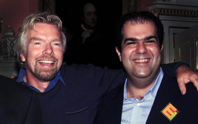 Όταν Sir Branson συνάντησε τον Sir Stelios στην Ελλάδα