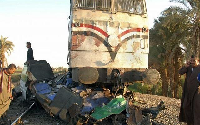 Σιδηροδρομικό δυστύχημα με 24 νεκρούς στην Αίγυπτο