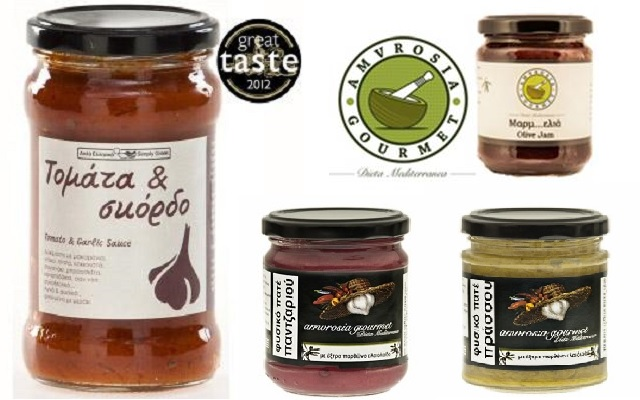 Amvrosia Gourmet: Aπό την ελληνική γη στα Great Taste Awards
