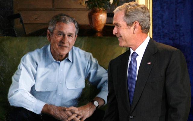 Ο Τζορτζ Μπους… ζωγράφος