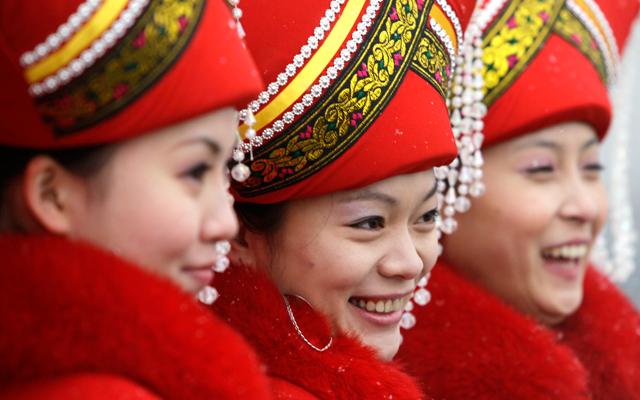 Ποιος χαίρετε και γελά στην Κίνα;