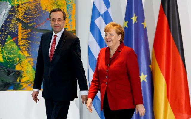 Συνάντηση Μέρκελ-Σαμαρά στο Βερολίνο