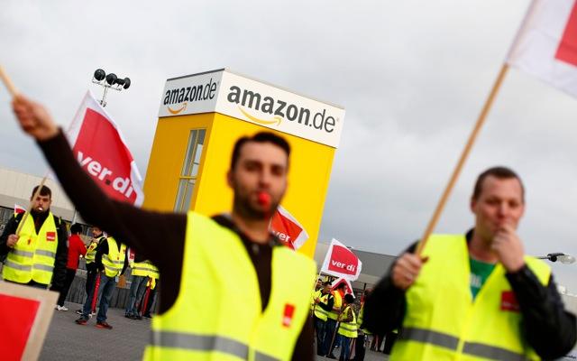 Απεργία τα Χριστούγεννα στην Amazon;