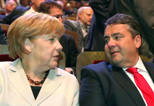 Συμφωνία για κυβέρνηση «ευρέως συνασπισμού» στη Γερμανία
