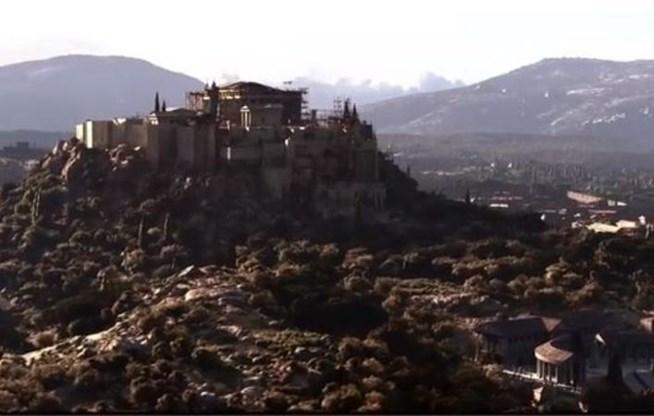 Βίντεο δείχνει πώς ήταν η Αρχαία Αθήνα