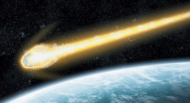 Κομμάτι μετεωρίτη έπεσε στο Ιόνιο (βίντεο)