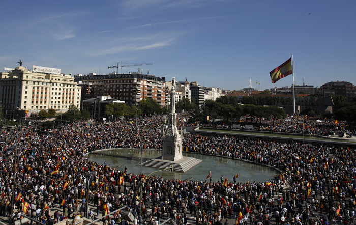 Νέο αμφιλεγόμενο νομοσχέδιο στην Ισπανία για τις διαδηλώσεις