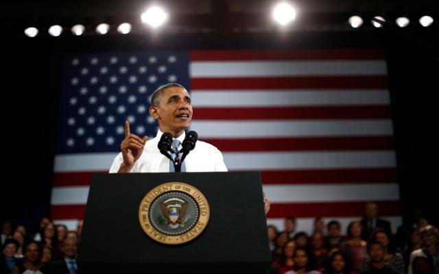 Ομπάμα: «Σύντομα θα έχουμε γυναίκα πρόεδρο στις ΗΠΑ»