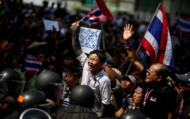 Έκρυθμη η κατάσταση στην Ταϊλάνδη (φωτο)