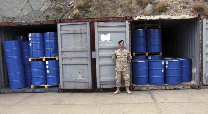 Τμήμα των συριακών χημικών όπλων θα καταστραφούν στη θάλασσα