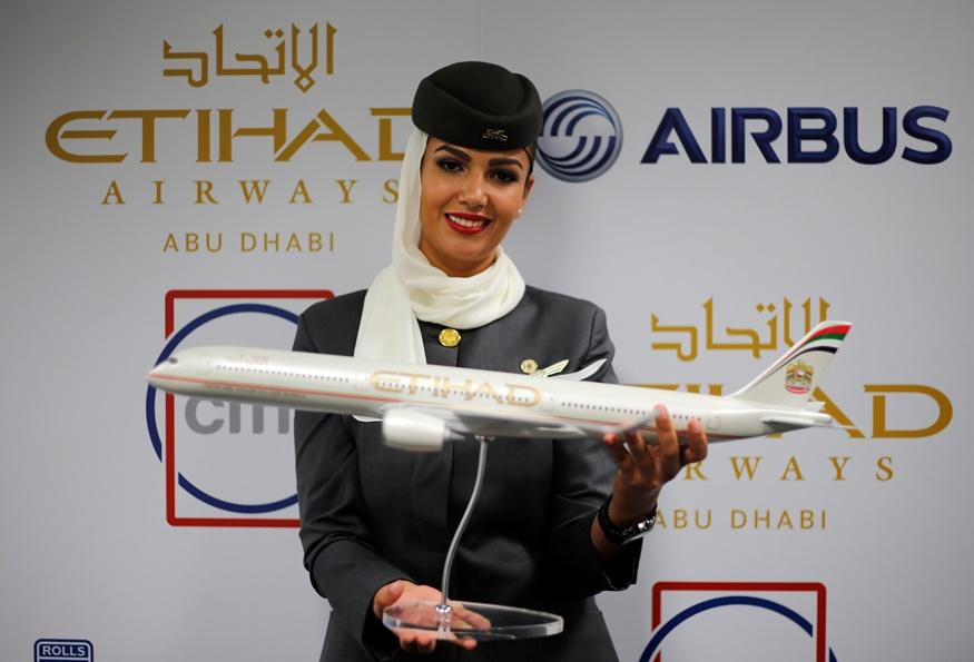 Πρωτιά για την ETIHAD AIRWAYS για 8η συνεχή χρονιά