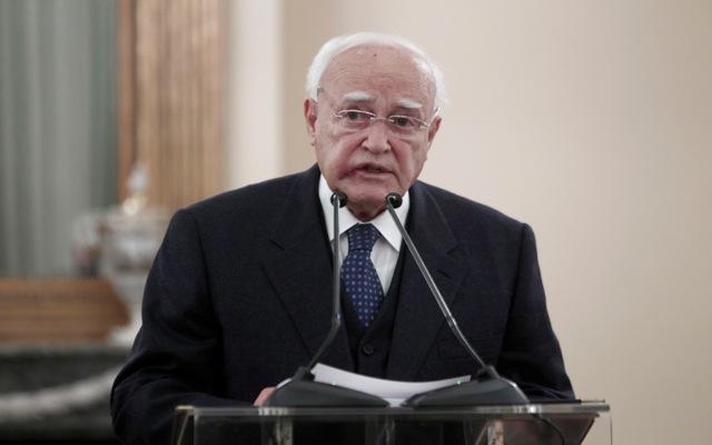 Μήνυμα κατά της διαφθοράς από τον Πρόεδρο της Δημοκρατίας