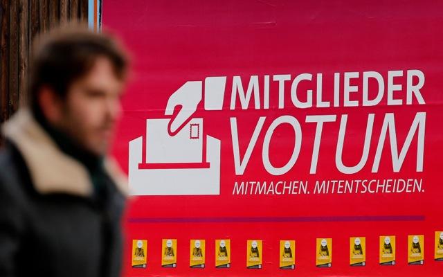 Κατά της συγκυβέρνησης με τη Μέρκελ τάσσεται η Νεολαία του SPD