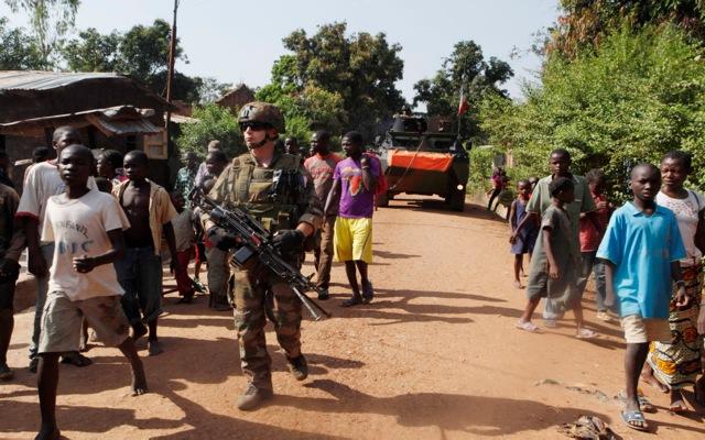 Στην Κεντροαφρικανική Δημοκρατία ο γαλλικός στρατός