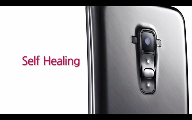 Tο τηλέφωνο LG που επιδιορθώνει τις γρατζουνιές του