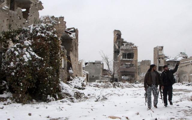 ΗΠΑ και Βρετανία διακόπτουν την αποστολή εφοδίων στους Σύρους αντάρτες
