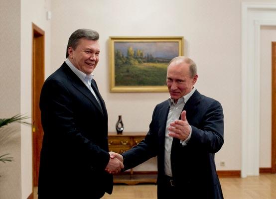 ukraine putin yanukovich RTR3EKBT