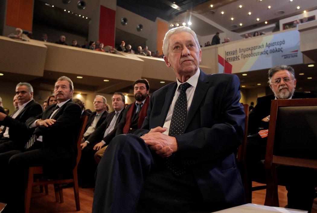 Σκληρή κριτική προς τον Φώτη Κουβέλη στο συνέδριο της ΔΗΜΑΡ